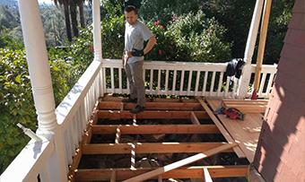 Deck remodel home contractors